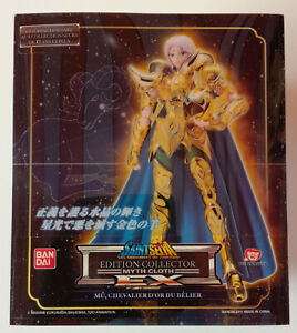 Seiya Myth cloth EX Gold Bélier Aries Mu EUR NEUF SCELLE/ Chevaliers du zodiaque