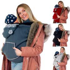 Fleece Tragecover für Tragetücher Babytrage Cover mit Schalkragen