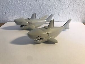 Genuine Rare LEGO Great White Shark with Gills and Teeth Minifigure