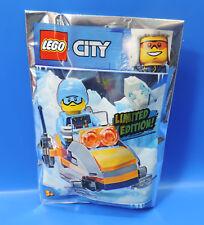 LEGO® City Limited Edition 951810 Eisforscher Figur +Schneemobil +Mammutknochen