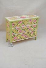 Painted Wide Dresser EWDP2488 Fashion Doll dollhouse furniture 1/6 & 1/8 Scale