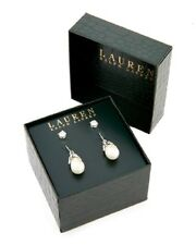 Ralph Lauren Earrings Set Of 2 Boxed  NIB Retails for $60.00