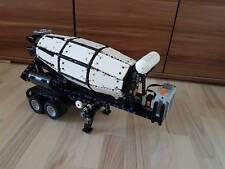 Bauanleitung instruction Betonmischer Auflieger Eigenbau Unikat Moc Lego Technic