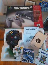 Nintendo 64 N64 Original Verpackung/Box Pal OVP mit Controller