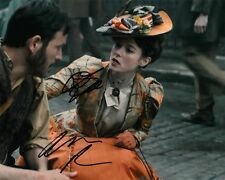 "ADAM ROTHENBERG & LYDIA WILSON AUTOGRAPH SIGNED 10X8"" PHOTO RIPPER STREET COA 55"