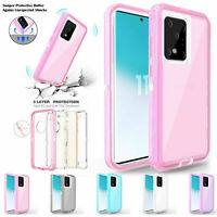 Clear Defender Case For Samsung S30 S20 S10 Note 20 5G Shockproof Hybrid Cover