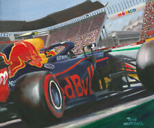 Litho 2018 Red Bull Racing RB14 #33 Max Verstappen Mexico by Toon Nagtegaal OE