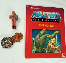 1983 Masters of the Universe He-Man Clip On Action Figure,Belt Buckle,