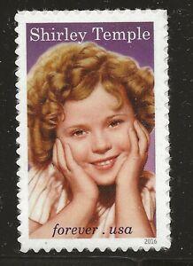US Scott #5016, Single 2016 Shirley Temple VF MNH