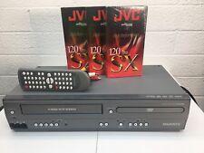 Magnavox DV225MG9 DVD VCR 4 Head Combo Player VHS Recorder DVD VCR Dubbing Remot