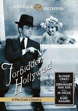 Forbidden Hollywood Volume 8 New DVD Blonde Crazy, Strangers May Kiss..2 more