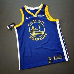 100% Authentic Eric Paschall Nike Warriors Jersey Rakuten Patch Size 48 L Mens