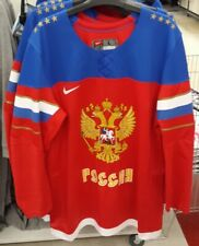 Men's Official Hockey Jersey Russian Team Size XL