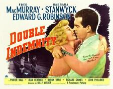 Double Indemnity Starring Stanwyck & MacMurray With Gun In Hand 11x14 Print 1944
