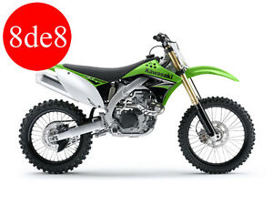 Kawasaki KX 450 F (2010) - Workshop Manual on CD (In Spanish)