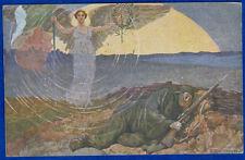 COMITATO MILANESE PASQUA 1916 Bisogni Guerra ill. SALVADORI viaggiata f/p #19111