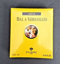 Vtg Bal A' Versailles Parfum Jean Desprez Paris 0.25 FL OZ 7.5 ml Factory Sealed