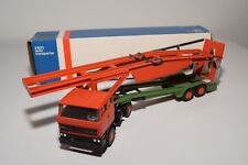 ± LION CAR DAF 2800 TRUCK WITH TRAILER CAR CARRIER AUTO TRANSPORTER EXC. BOXED