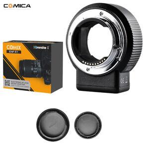 Commlite CM-ENF-E1 PRO V08 Focus Lens Adapter for Nikon F Lens to Sony E-mount