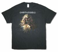 Disturbed Immortalized Tour 2016 Black T Shirt New Official