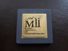1X CYRIX MLL MII 300GP  VINTAGE CERAMIC CPU FOR GOLD SCRAP RECOVERY