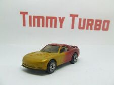 MATCHBOX MAZDA RX 7 1:58 GOLD & RED RARE COLOUR  75 MM LONG  I