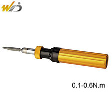 Adjustable Torque Screwdriver Prefabricated Type 0.1-0.6 N.m Hand Tools  AYQ-0.6