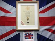 Oath Of Allegiance REME (framed with Cap Badge)