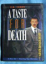 LIKE NEW RARE OOP P.D James Taste for Death 2-DVD Mini-Series Dalgliesh U.K. A+