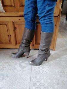 Faith Slouch Boots Size 7
