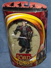 LORD OF THE RINGS THE TWO TOWERS KING THEODEN IN ARMOR FIGURE SET