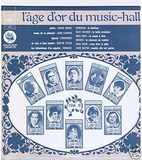 LP L'AGE D'OR DU MUSIC HALL VOL 4  FERNANDEL SOLIDOR NOEL NOEL CHARLUS
