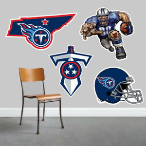 Tennessee Titans Wall Art 4 Piece Set Large Size------New in Box------