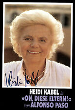Heidi cavo originale firmato # BC G 13129