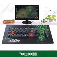 Professional Gamer's Control Razer Gaming Mouse Pad Keyboard Large Mat 700*300MM