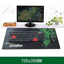 Professional Gamer's Control Razer Gaming Mouse Pad Keyboard Large Mat 700*300MM