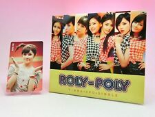 CD+DVD+Photo card T-ARA 3rd SINGLE ROLY-POLY Japanese ver. 1st Limited Boram
