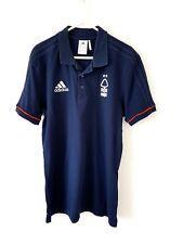 Nottingham Forest Polo Shirt. Medium. Official Adidas Blue Adults Football Top M