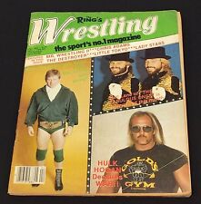 VINTAGE WRESTLING ~ Magazine ~ The Rings Wrestling Magazine ~ April 1983~ wwf