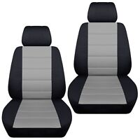 Fits 2011-2018 Hyundai Accent front set car seat covers