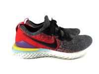 Nike Epic React Flyknit 2 Black Hyper Jade Mens Running Shoe Sz 11.5 BQ8928-007