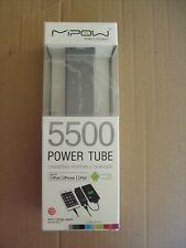 Mipow 5500 Power Tube universel portable chargeur, 5500 mAh Haute Puissance Banque