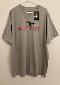 NASCAR T-shirt 3XL Watkins Glen International  Fanatics Gray NWT Adult Unisex
