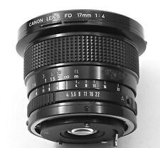 Canon FD 17mm f4 Wide-angle Lens