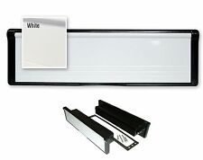 "Modern 12"" WHITE Letter BOX 