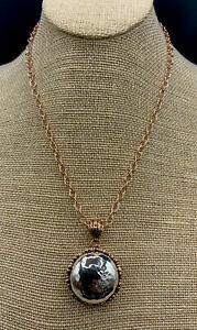 Barse Jubilee Orb Necklace- Mixed Metal- New With Tags