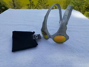 Oakley Over The Top (OTT) FMJ Sunglasses - Fire Iridium - RARE