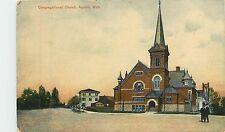 Michigan, MI, Alpena, Congregational Church Early Postcard