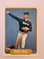 1982 Fleer Set Break #229 Nolan Ryan NM Houston Astros HOF Baseball Card