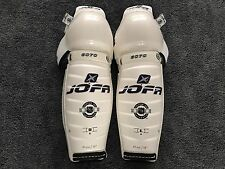 Made in Sweden Jofa 6070 NHL Pro Stock Ice Hockey Player Shin Pads Guards 16""